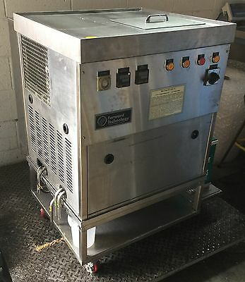 Forward Technology Sonic Heated Bath Solvent Laboratory Clean Mobile