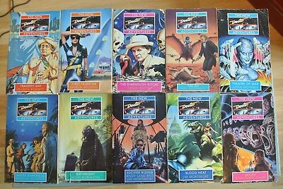 Doctor Who New Adventures 10 books: Blood Heat, Birthright, Theatre of War etc.
