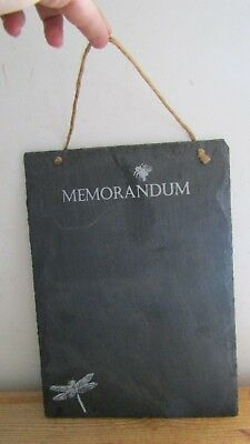 Black Slate MEMORANDUM Black Board