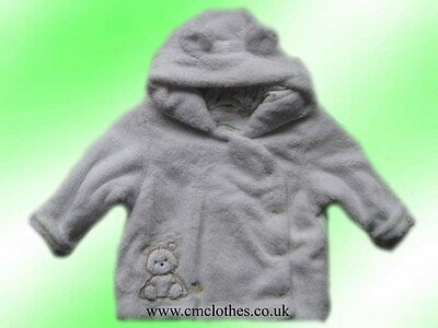 Unisex Baby Coat Mothercare 6-9 Months 74cm Height Brand New