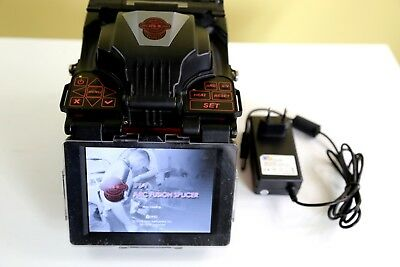INNO IFS-9 FUSION SPLICER ARC ONLY 349 w/ NEW CLEAVER, NEW FIBER OPTIC STRIPPER