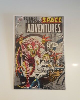 Golden Age Steve Ditko Space Adventures 12 RARE