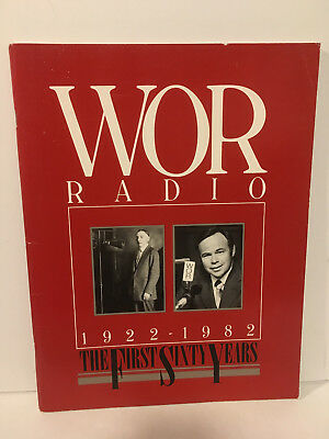 WOR Radio 1922-1982 The First Sixty Years Large Softcover