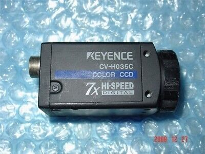 Used Keyence Ccd Industrial Camera Good Condition CV-H035C yx