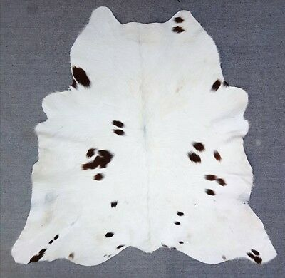"New Calfhide Rugs Area Cow Skin Leather 6.46 sq.feet (30""x31"") Calf hide A-1915"