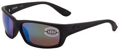 7de29f6d59 Costa Del Mar Jose Sunglasses JO-01-OGMGLP 580G Blackout Green Mirror  Polarized
