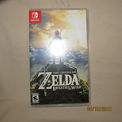 Legend of Zelda: Breath of the Wild (Nintendo Switch) Pre-Owned Complete CIB