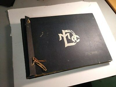 Photo Album/ Scrap Book 1913- Milwaukee Downer College & Minneapolis Art School