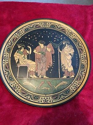 Greek terracotta replica  plate