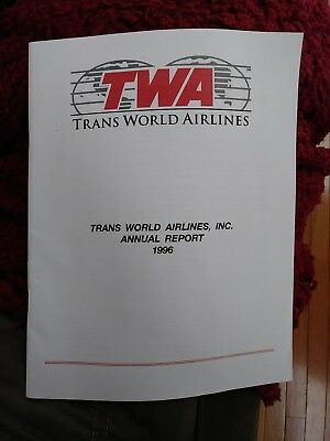 TWA Airlines Inc. Annual Report 1996