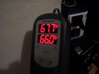 Inkbird ITC-308S Outlet Thermostats 1000W With Stainless Probe Sensor DC Cord