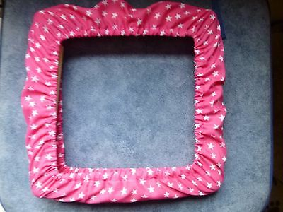 """17"""" X 17"""" Grime Guard/Cover Q Snap RnR Frame YOUR OWN FABRIC CHOICE Cross Stitch"""