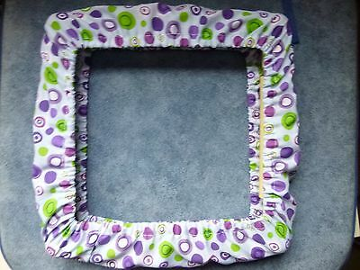 """8x8""""/9""""x9"""" Grime Guard For RnR Q Snap Frame YOUR OWN FABRIC CHOICE Cross Stitch"""