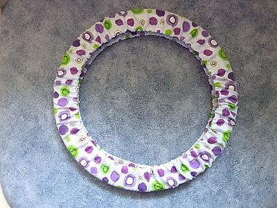 """Hoop Grime Guard Cover 8 -9"""" Size YOUR OWN FABRIC CHOICE Cross Stitch Embroidery"""