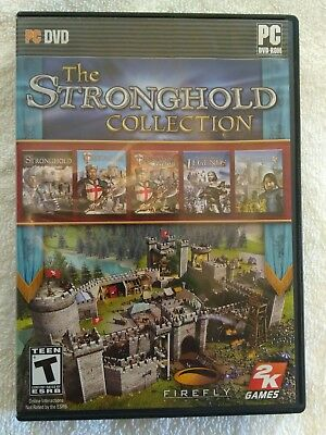 The Stronghold Collection (PC) 2K Firefly Strategy Video Game Medieval RTS