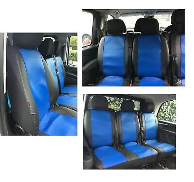 MERCEDES VITO 447 2014 ONWARDS LEATHER 2+1 TAILORED SEAT COVERS MADE TO MEASURE
