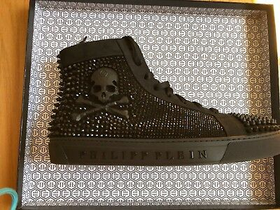 7e8e331a453 PHILIPP PLEIN MENS Hi-Top Sneakers