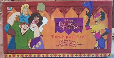 The Hunchback Of Notre Dame Board Game (1995) 100% Complete DISNEY Collectible