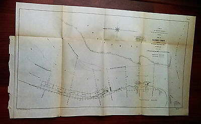 1904 Map of Daniel's Point Revetment and Shore Line