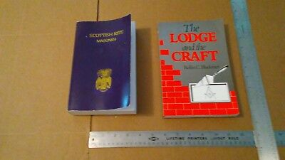 Pair of Freemasonry Books - Lodge & the Craft / Scottish Rites Vol 2