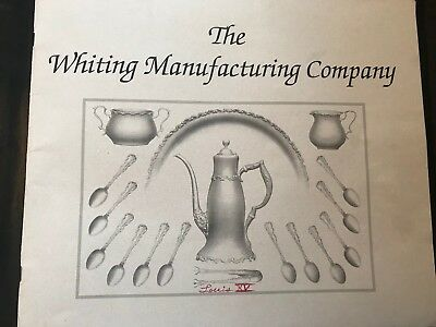 The Whiting Sterling Silver Manufacturing Company Historical Catalog