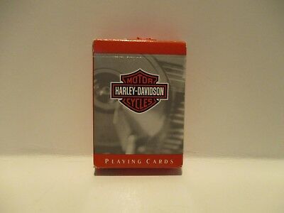 "Harley Davidson Playing Cards ""Free Shipping"""
