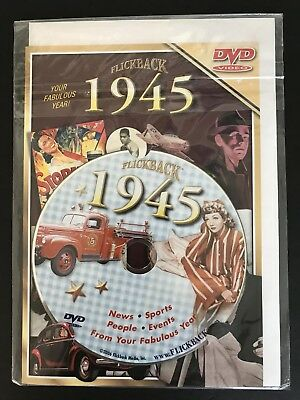 Flickback 1945 DVD Video 73rd Birthday Card