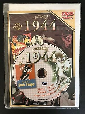 Flickback 1944 DVD Video 74th Birthday Card