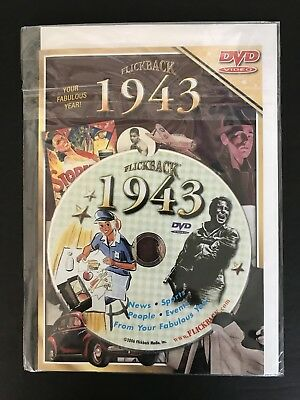 Flickback 1943 DVD Video 75th Birthday Card