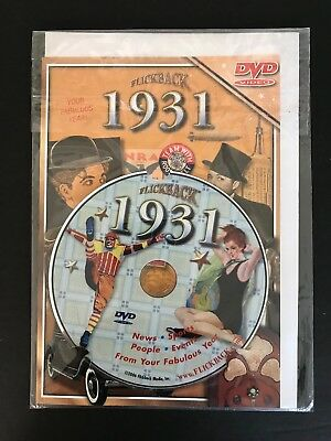 Flickback 1931 DVD Video 87th Birthday Card