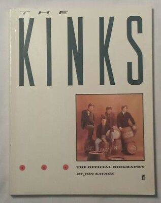 The Kinks:  The Official Biography by Jon Savage, 1st ed UK, 1984