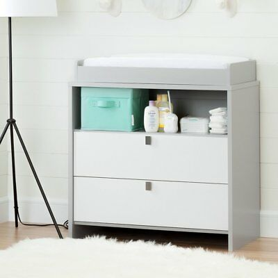 South Shore Cookie Changing Table/Dresser, Soft Gray