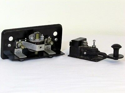 US Navy Telegraph Key and Sounder CMI-26003A WWII Military Communications Morse