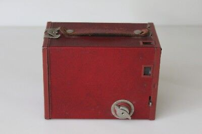 Antique Brownie Kodak Box Camera Use Film 120 Untested