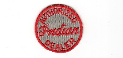 """1950's INDIAN AUTHORIZED DEALER PATCH -  2"""" Round"""