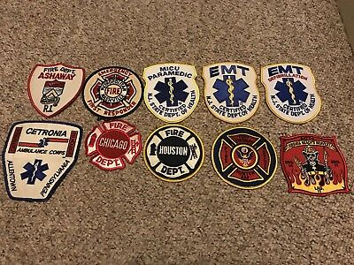 Lot: Mixed Fire EMS Patches