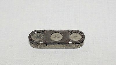 Sioux City Service Co vintage three slot trolley car token holder by Mergott