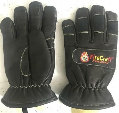 Fire Fighting Gloves Wristlet NFPA 1971: 2013 Certified, CADET SIZE: S.M.L.XL