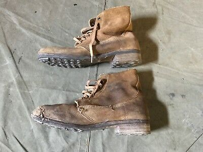 58A Wwi Us M1917 Trench Boots- Size 10