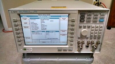 Agilent E5515C 8960 Series 10 Wireless Test Set - Opts 002, 003 - Tested/Working