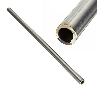 304 Stainless Steel Capillary Tube Pipe Silver 12mm OD 10mm ID 250mm Length  1PC