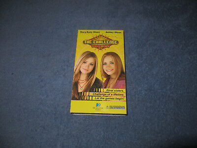 The Challenge Mary-Kate and Ashley pre-owned VHS tape 2003