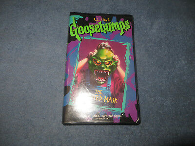 Goosebumps The Haunted Mask black clam case pre-owned VHS tape 1995