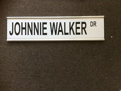 Johnnie Walker Metal Street Sign Double Sided Cheap Alcohol