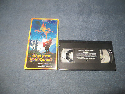 The Great Land of Small pre-owned VHS tape 1990