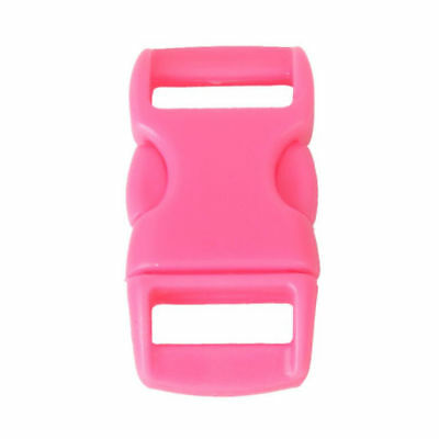 6 x PiNk pLaStic Side Quick reLeAse buckle clip,belts,backpacks anY diy project