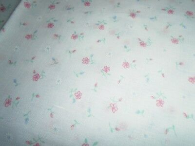Vintage Fabric, Light Weight Fabric For dress making, Wamsutta Brand
