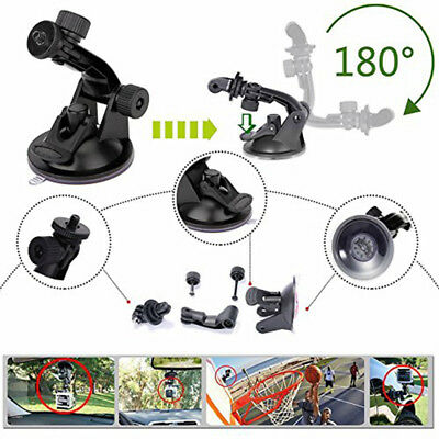 Suction Cup Mount Tripod Adapter Camera Accessories For Gopro Hero 4/3/2/HD BS1