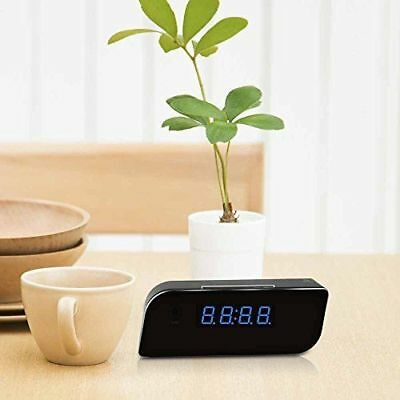 HD Spy Wi-Fi Hidden Camera Alarm Clock Motion Activated Wireless Home Security M