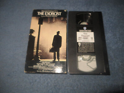 The Exorcist pre-owned VHS tape 1990